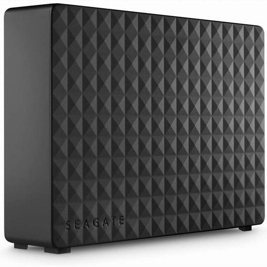 历史新低!Seagate 希捷 Expansion Desktop 10TB 超大容量移动硬盘 199.99加元包邮!