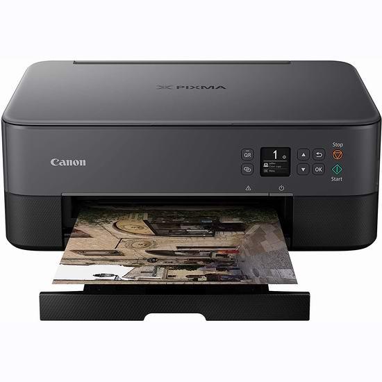 Canon 佳能 PIXMA TS5320 多功能一体 无线彩色喷墨打印机6.9折 89.99加元包邮!