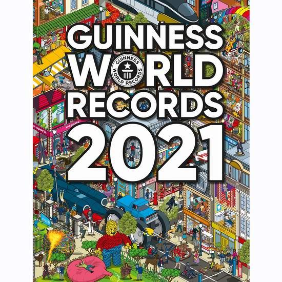 精选大量儿童读物及练习册3.6折起!封面款2020《吉尼斯世界纪录大全》12.74加元!