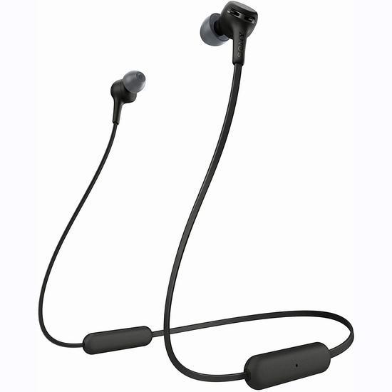 历史最低价!Sony 索尼 Wi-XB400 蓝牙无线耳机 58加元包邮!2色可选!