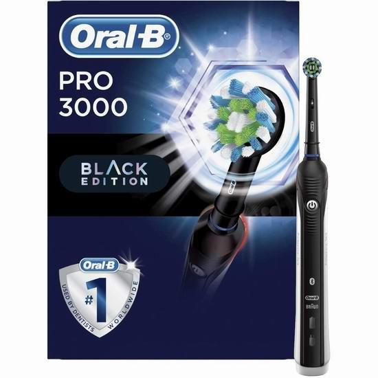 金盒头条:历史新低!Oral-B Pro 3000 蓝牙电动牙刷 66.49加元包邮!仅限今日!