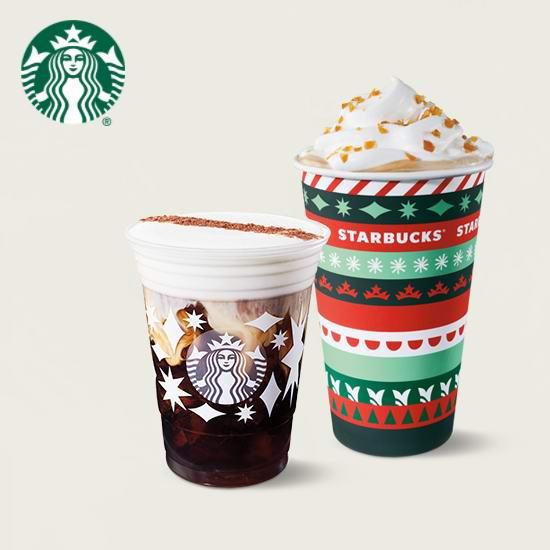 Starbucks 星巴克 Frappuccino 星冰乐及手工咖啡 买一送一!11月23日截止!