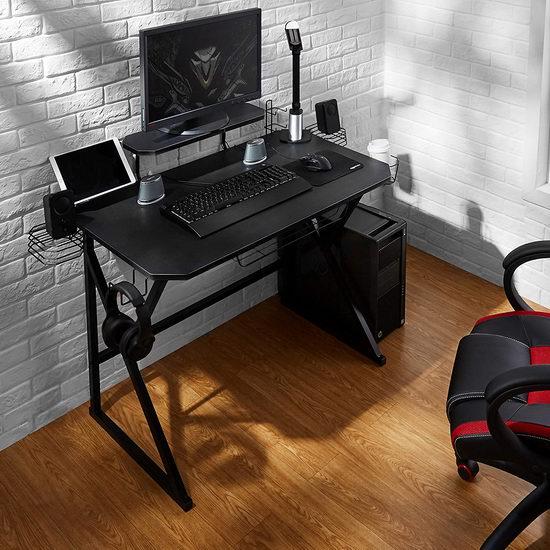 历史新低!AmazonBasics 电脑游戏桌/书桌 135.75加元包邮!2色可选!