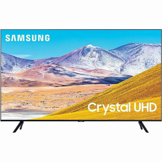 历史新低!Samsung 三星 43英寸 TU8000 4K超高清智能电视 448加元包邮!
