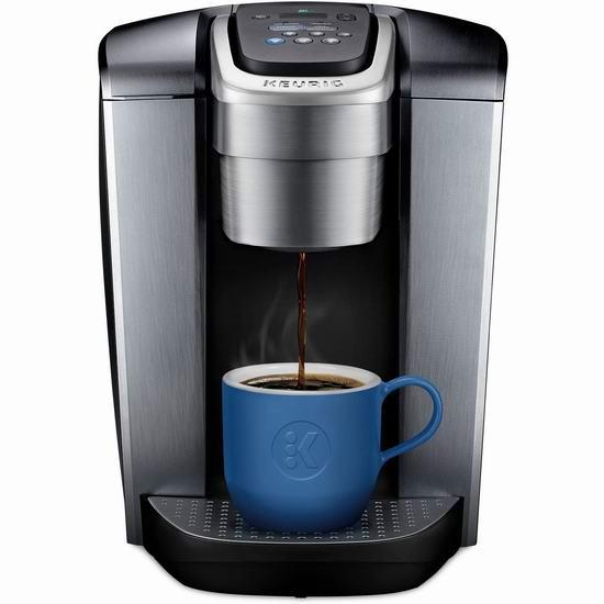 节礼周头条:历史最低价!Keurig K-Elite 胶囊咖啡机4.5折 89.88加元包邮!