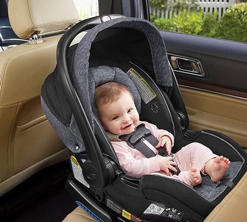 历史最低价!Graco 葛莱 Snug Ride Lock 35 DLX 婴儿汽车安全提篮 6.2折 179.97加元,原价 289.97加元,包邮