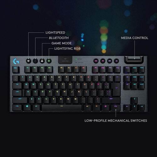 Logitech G915 无线RGB机械游戏键盘 7.7折 259.99加元,原价 299.99加元,包邮