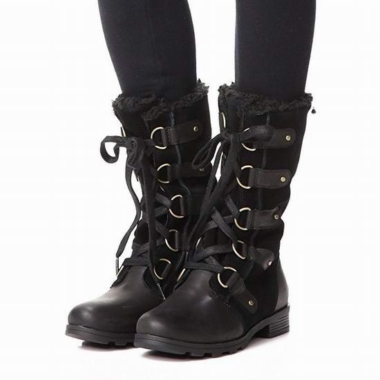 今日闪购:Sorel 加拿大冰熊 EMELIE LACE 女式长筒雪地靴5折 125加元包邮!穿出无限大长腿!