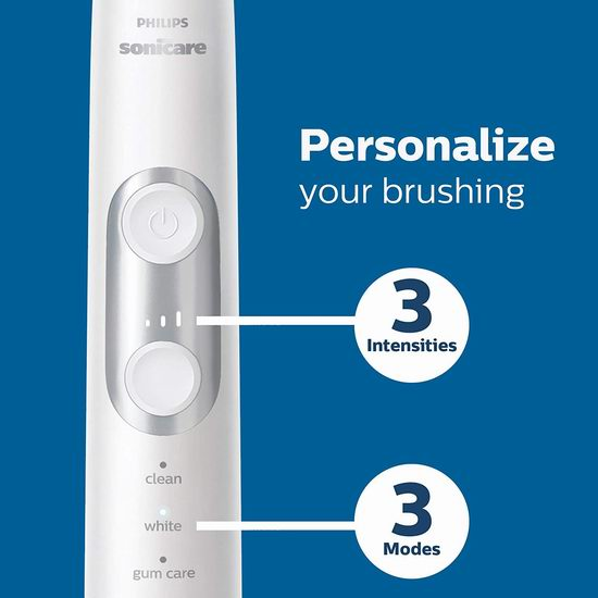 历史最低价!Philips 飞利浦 Sonicare 6100系列 声波震动 美白电动牙刷6.6折 99.95加元包邮!2色可选!