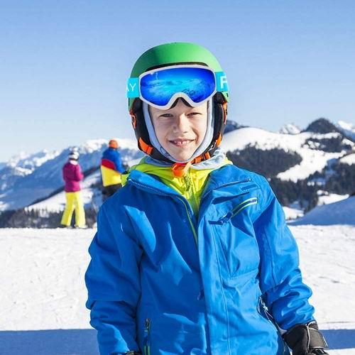 Findway 儿童防紫外线防雾滑雪护目镜 23.83加元限量特卖,原价 32.99加元