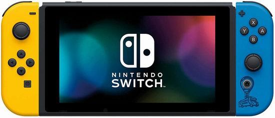 网购周专享:Nintendo 任天堂 Switch 便携式游戏机+《Fortnite 堡垒之夜》套装 399.99加元包邮!