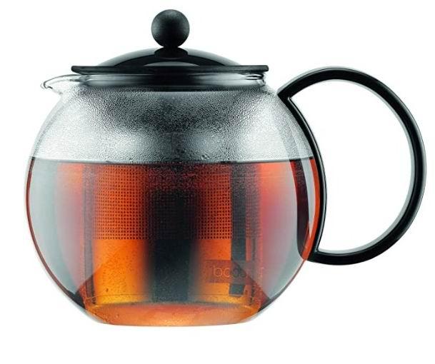Bodum Assam 不锈钢内胆玻璃茶壶 34盎司 29.01加元,原价 36.48加元