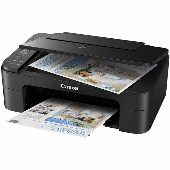 Canon 佳能 PIXMA TS3320 无线多功能一体彩色喷墨打印机6折 59.99加元包邮!