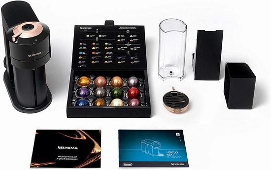 Nespresso Vertuo Next 蓝牙智能胶囊咖啡机、及奶泡机套装5.8折 149-219加元包邮!