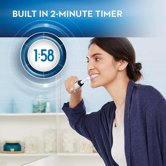 Oral-B 1000 3D震动电动牙刷 5.9折 49.97加元包邮!2色可选!bestbuy同款价 99.99加元
