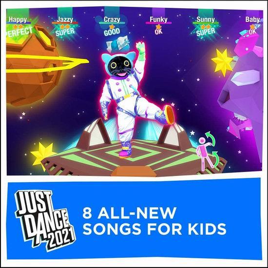 《Just Dance 舞力全开 2021》Switch/PS4/PS5/Xbox版游戏4.8折 29.01加元!