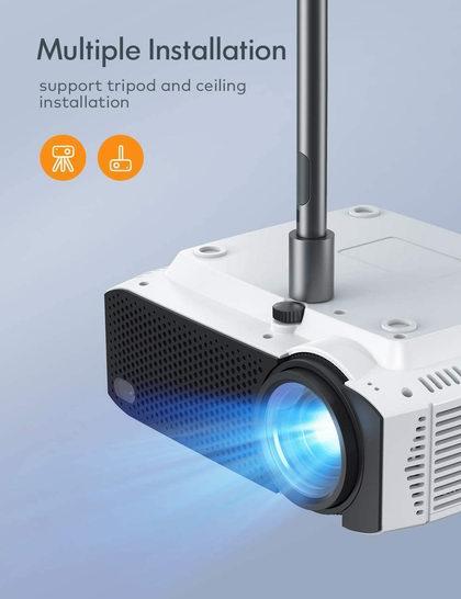 APEMAN 4500流明 家庭影院LED高清投影仪5.6折 89.99加元包邮!