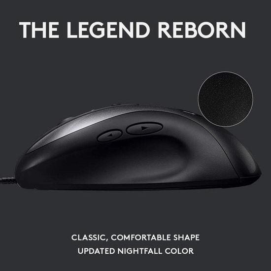 历史新低!Logitech 罗技 G MX518 游戏鼠标3.7折 29.99加元!