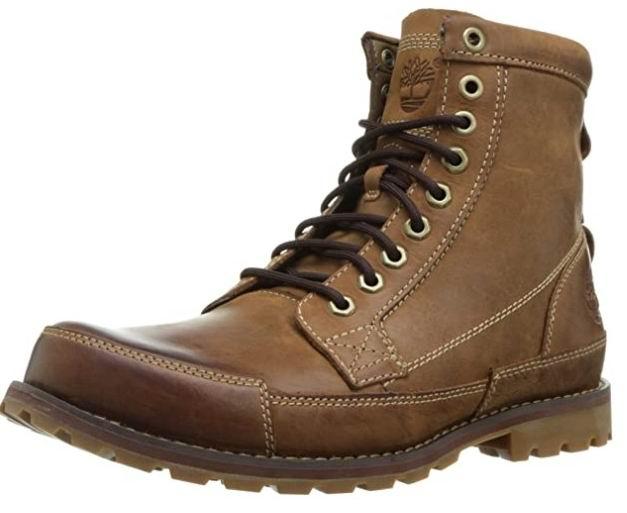 Timberland男士EK Original 6英寸时尚短靴 137.97加元,原价215.99加元,包邮