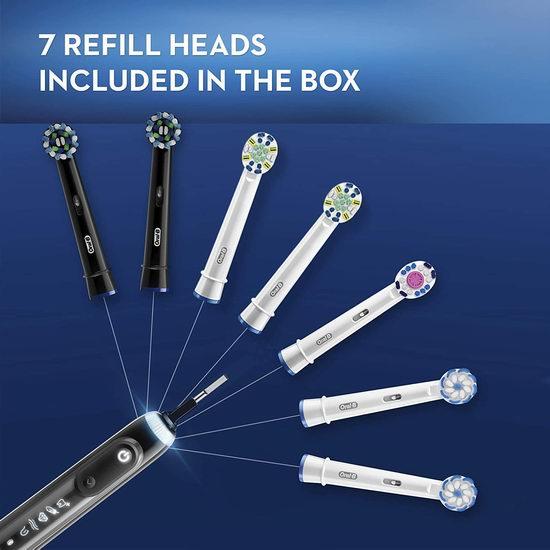 Oral-B GENIUS X 10000 Luxe 蓝牙 人工智能牙刷5.6折 169.99加元包邮!配送7个刷头!