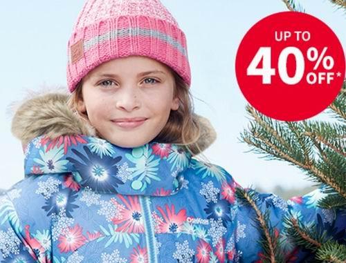 Carters网购星期一:全场5折+儿童冬季户外服饰 6折+额外9折 +全场包邮