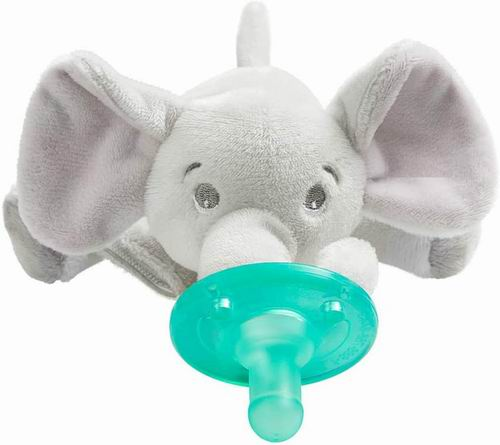 安抚神器!Philips Avent大象/长颈鹿/海狮/小猴子安抚奶嘴 13.49-14.99加元,原价 19.99加元