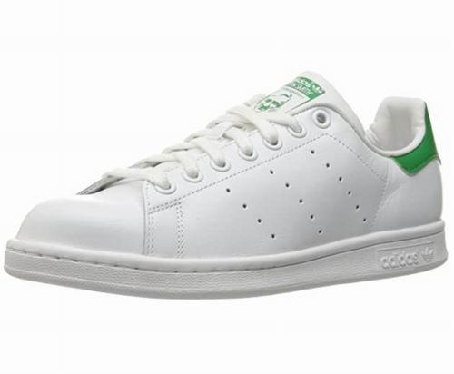 仅限今日!adidas Stan Smith女士绿尾小白鞋 53.36加元,原价 110加元,包邮