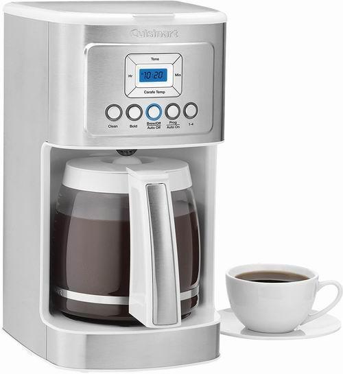 历史最低价!Cuisinart DCC-3200W 14C滴漏式咖啡机 6.6折 95.99加元,原价 145.63加元,包邮