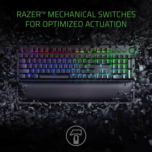 节礼周!精选 Razer 雷蛇 游戏键盘、游戏鼠标、游戏耳机5.6折起!