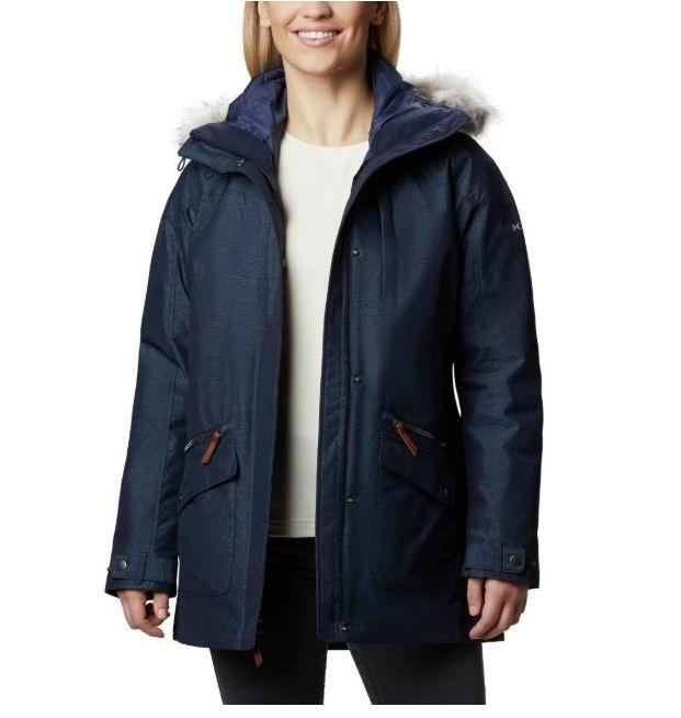 Columbia Carson 女士3合1保暖夹克 151.68加元(M码),原价 319.99加元,包邮
