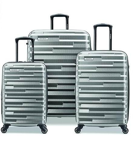 历史新低!Samsonite 新秀丽 Ziplite 4.0 21+26+30寸 全PC 超轻拉杆行李箱3件套 266.24加元包邮!