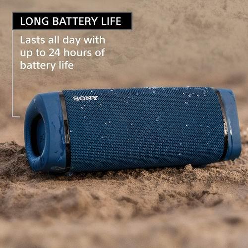 史低价!Sony 索尼 SRS-XB33 重低音无线防水蓝牙音响 5.6折 139.99加元,原价 249.99加元,包邮