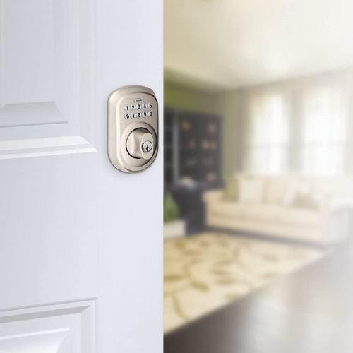 精选多款 Schlage 西勒奇 家用电子密码门锁7.4折起!