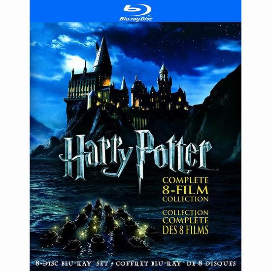 金盒头条:《Harry Potter 哈利波特》蓝光影碟全集 51.99加元包邮!