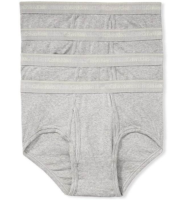 Calvin Klein男士经典纯棉内裤 4件套 6.3折 28.99加元