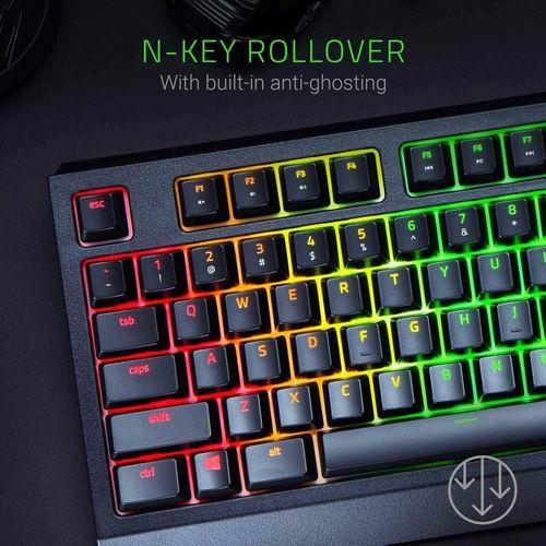Razer 黑寡妇蜘蛛 机械游戏键盘  99.99加元,原价 129.99加元,包邮