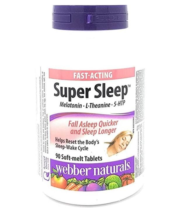 Webber Naturals 超级安睡宝褪黑素 90粒 24.47加元,原价 53.99加元