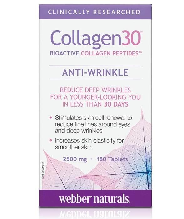 Webber Naturals  Collagen 30胶原蛋白 12.52加元,原价 15.97加元