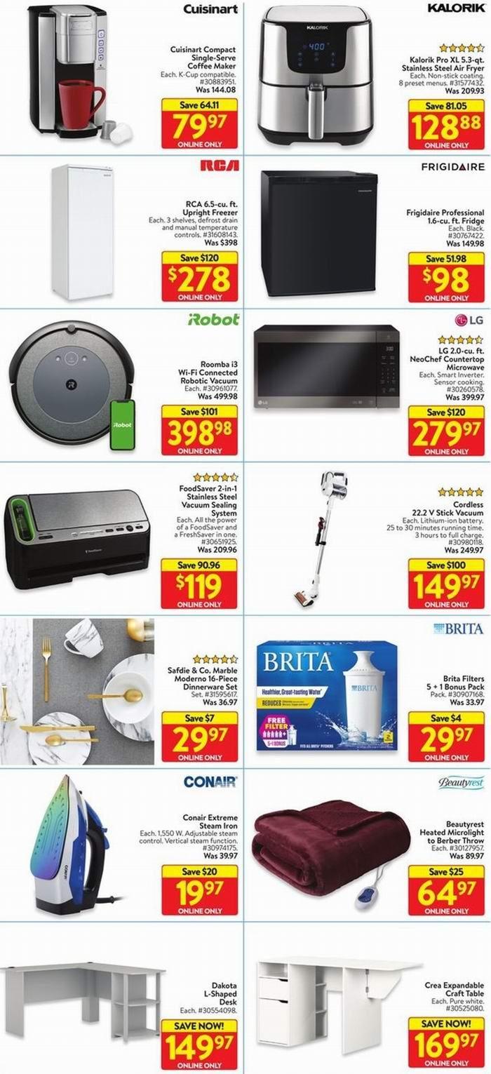 开抢!Walmart黑五预售!Instant Pot电压力锅.88、苹果耳机9、55寸电视8、空气炸锅.88、圣诞树.98、乐高积木.98!