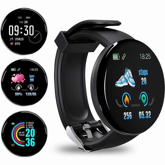白菜价!历史新低!Healthcenter GPS 蓝牙智能手表2.6折 12.99加元清仓!