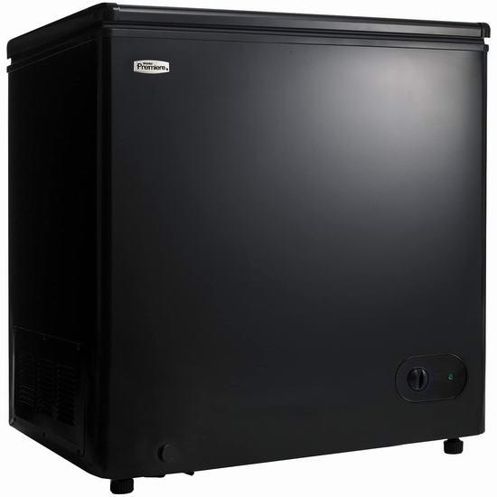 历史新低!Danby DCF055A2BP 5.5 cu. Ft. 黑色冰柜 218加元包邮!