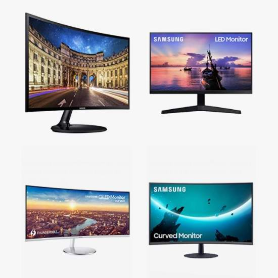 精选多款 Samsung 三星显示器、游戏显示器、曲面屏显示器5.7折起!