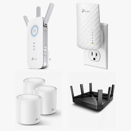 精选 TP-Link、D-Link 等品牌路由器、WiFi网格系统、信号延伸器、监控摄像头、集线器、无线网卡等5.5折起!