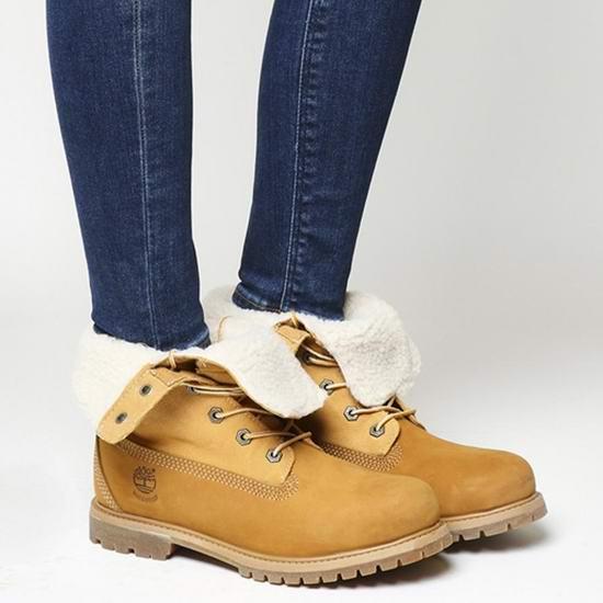 Timberland 添柏岚 Jayne 女式经典大黄靴 111.97加元包邮!