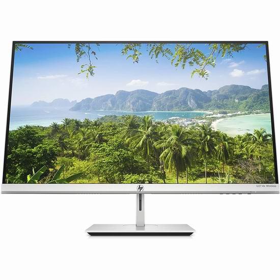 历史新低!HP 惠普 U27 27英寸 4K超高清 无线显示器 449.99加元包邮!