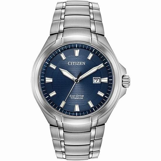 历史新低!Citizen 西铁城 BM7431-51L Paradigm 超级钛 光动能男式腕表/手表5折 224.4加元包邮!
