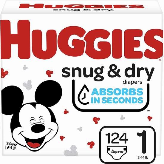 Huggies 好奇婴幼儿纸尿裤 8折 18.98加元起,多款可选!