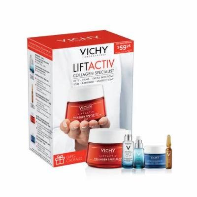 Vichy 薇姿冬季大促,全场最高满享7.5折!入超值装、赋能89号、反重力安瓶、抗皱眼霜!