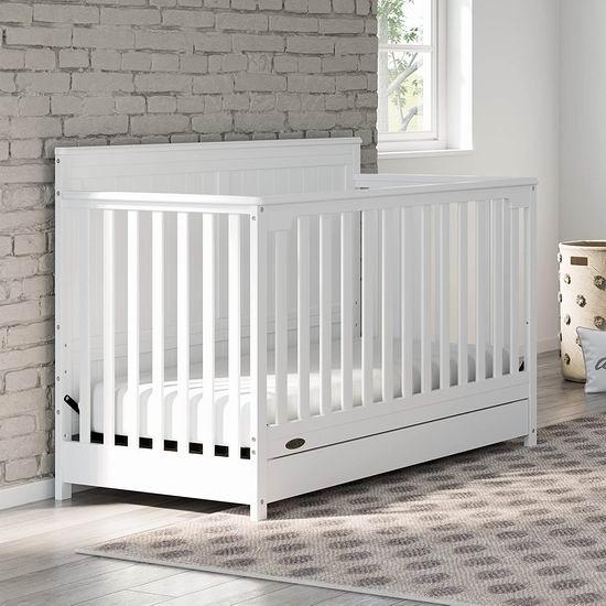 历史最低价!Graco Hadley 四合一成长型 婴儿床6.8折 259.97加元包邮!