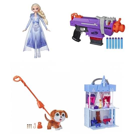 金盒头条:精选 Hasbro 孩之宝 儿童益智玩具、玩偶、玩具枪等7折起!